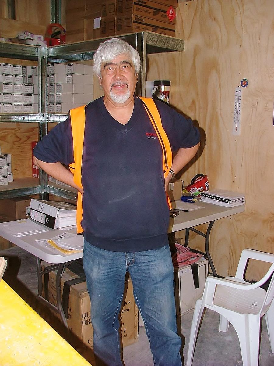 Brighton workforce Lucho Abarca